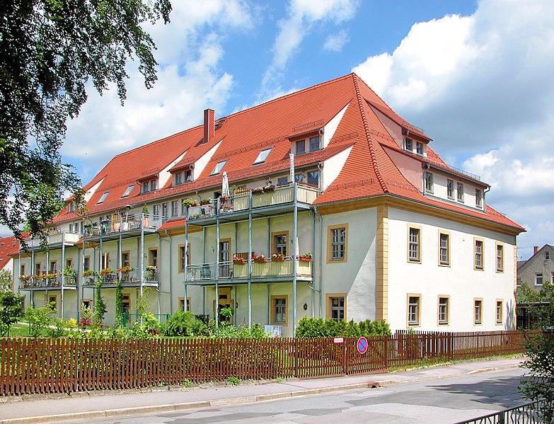 File:20090523320DR Freiberg Herrenhaus Friedeburg Ohein-Haus.jpg