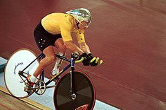 201000 - Cycling track Greg Ball action - 3b - 2000 Sydney race photo.jpg