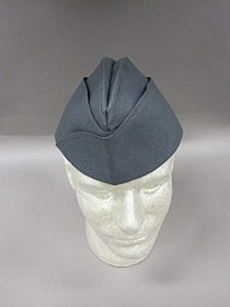 2011-148-91 Uniform, Officer, Garrison cap, Grey (6012215644).jpg
