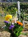 2013-01-05 Wood stûpa & Flours Graves in Ogo,Kobe,Hyogo prefecture 神戸市北区淡河町の墓地と木製卒塔婆 DSCF4013.JPG