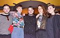2014-04-02 Aaron Angell, Alice Channer, Nicolas Deshayes, Magali Reus, Cally Spooner, opening the exhibition POOL - Kunst aus London, Kestnergesellschaft in Hannover.jpg