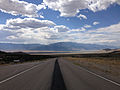 2014-08-09 15 45 12 View west along U.S. Routes 6 and 50 about 81.3 miles east of the Nye County line in White Pine County, Nevada.JPG