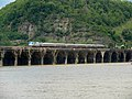 20140523 38 Amtrak Pennsylvanian crossing Rockville Bridge (16039186973).jpg