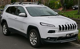 2014 Jeep Cherokee (KL MY15) Limited wagon (2015-07-09) 01.jpg