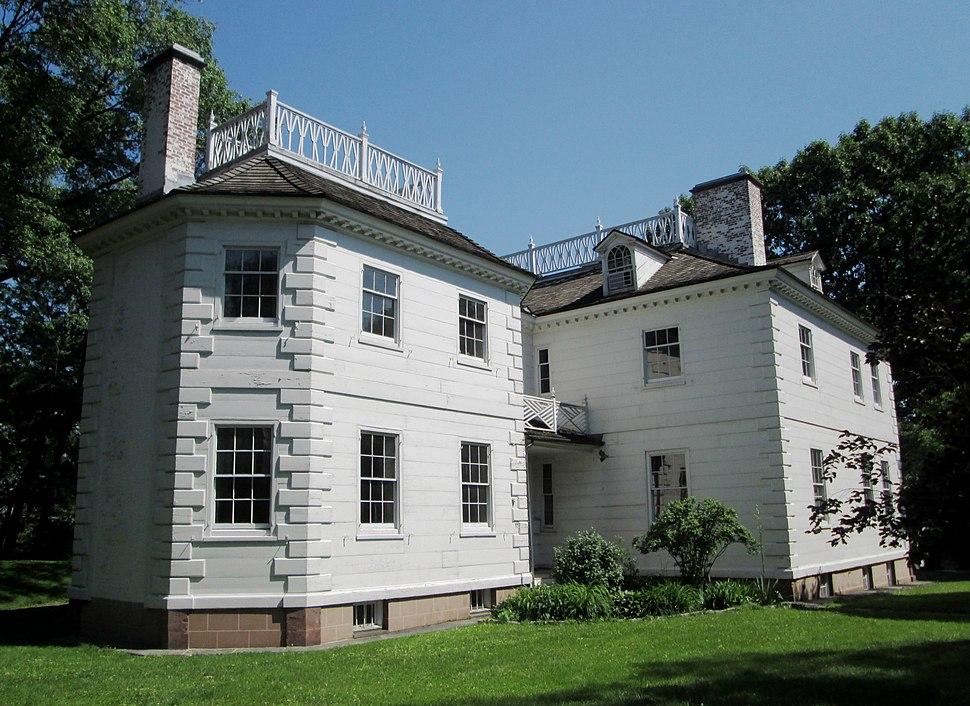 2014 Morris-Jumel Mansion from northwest