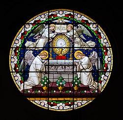 2014 Nysa, Bazylika św. Jakuba i św. Agnieszki, witraż.jpg