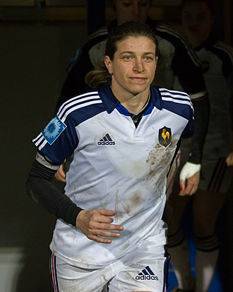 Christelle Le Duff - Image: 2014 Women's Six Nations Championship France Italy (112)