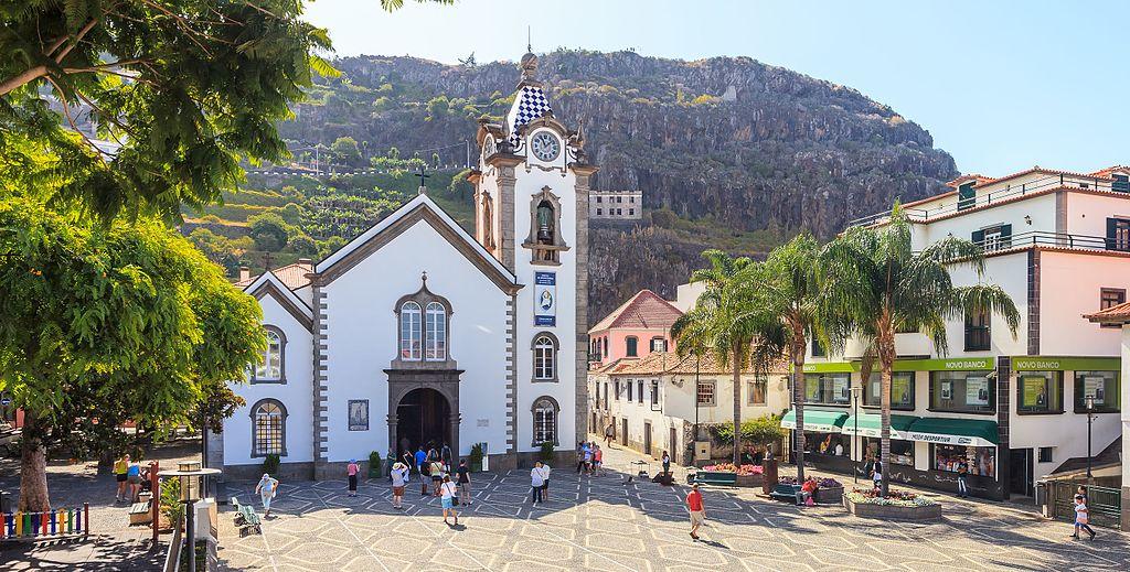 2016. Igrexa de San Bieito. Século XV. Ribeira Brava. Madeira. Portugal 2