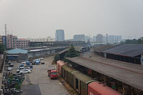201607 Freight yard of Genshanmen Station1.jpg