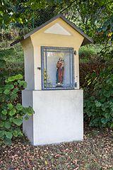 Bildsäule mit Muttergottesfigur in Hartenstein