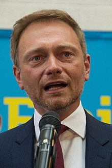 Christian Lindner in 2017