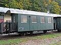 2017-10-12 (120) Narrow gauge rail wagon Bi-s 3860 at train station Kienberg-Gaming.jpg