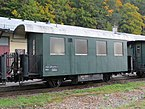 2017-10-12 (120) Narrow gauge rail wagon Bi-s 3860 at train station Kienberg-Gaming.jpg