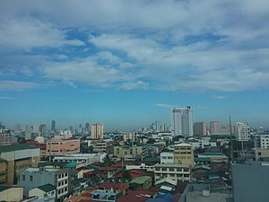 2018-01-11 Manila from 9th floor of Commission on Filipinos Overseas, Citigold Building 01.jpeg