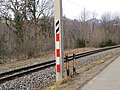 2018-01-28 (222) Barricades in front of overhead line for the Mariazellerbahn at Schloßgegend in Kirchberg an der .jpg
