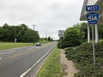 Millstone, New Jersey - CR 514 in Millstone