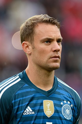Manuel Neuer - Neuer with Germany in 2018