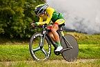 20180924 UCI Road World Championships Innsbruck Women Juniors ITT Akvile Gedraityte DSC 7670.jpg