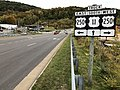2019-10-25 17 55 22 View south along Virginia State Route 261 (Statler Boulevard) at the junction with U.S. Route 250 (Richmond Avenue) in Staunton, Virginia.jpg