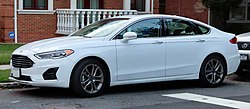 2019 Ford Fusion SEL 1.5L, front 9.8.19.jpg