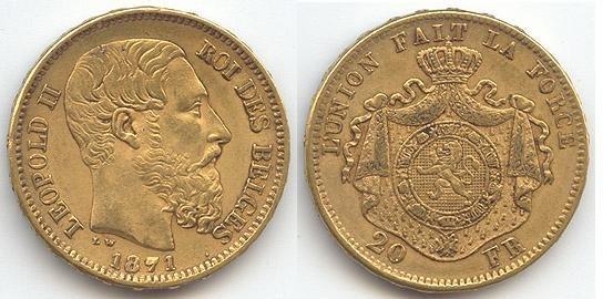 20 francs belges