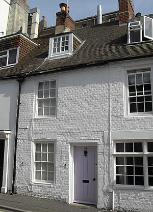 Grade II listed buildings in Brighton and Hove: C–D - Image: 22 Camelford Street, Brighton (Io E Code 479517)
