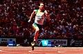 261000 - Athletics track Sam Rickard action - 3b - 2000 Sydney race photo.jpg