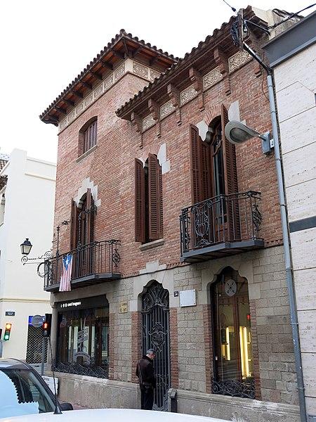File 276 casa ramona sallent c banys 34 la garriga jpg wikimedia commons - Casa la garriga ...