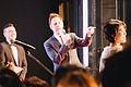 27th Tokyo International Film Festival- Robert Luketic & James Gunn (15017914134).jpg