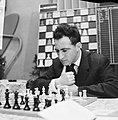28e Hoogoven schaaktoernooi te Beverwijk, de grote kanshebber, de Rus Polugajevs, Bestanddeelnr 918-6660.jpg