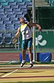 291000 - Athletics field discus F12 Russell Short gold action - 3b - 2000 Sydney event photo.jpg