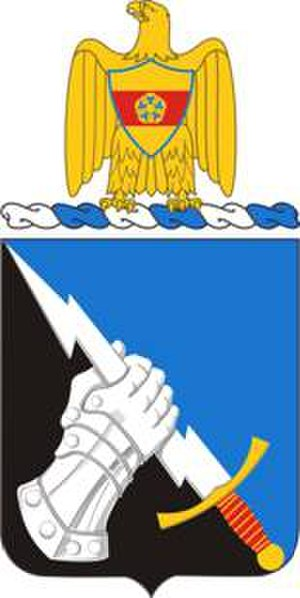 297th Military Intelligence Battalion (United States) - Coat of arms