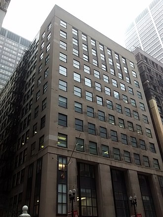 29 South LaSalle - The building currently located at 29 South LaSalle, as of April 2015