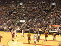 2 Cavaliers at Raptors 104-96 Wednesday, April 6, 2011.JPG