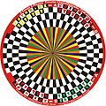 2 Teams 2 Players Circular Chess (Opposite First Way) variant in 6 Players Circular Chess invented by Hridayeshwar Singh Bhati.JPG