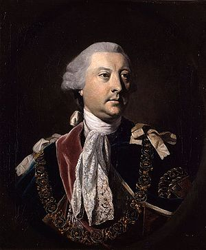 George Montagu-Dunk, 2nd Earl of Halifax - The 2nd Earl of Halifax by Joshua Reynolds (1764)