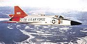 31st Fighter Interceptor Squadron Convair F-102A-75-CO Delta Dagger 56-1281