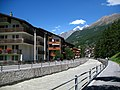 3723 - Zermatt - Vispa viewed from Schluhmattstrasse.JPG