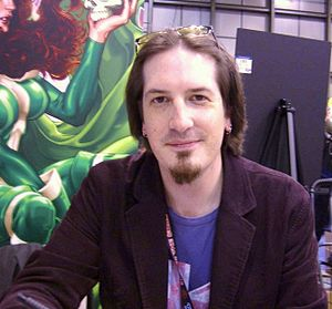 Mark Brooks (comics) - Brooks at the 2008 New York Comic Con
