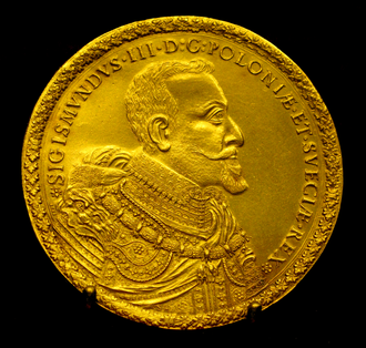 Red złoty - A Polish ducat, or red złoty, minted in 1621 during the reign of Sigismund III Vasa
