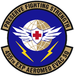 455 Expeditionary Aeromedical Evacuation Sq emblem.png