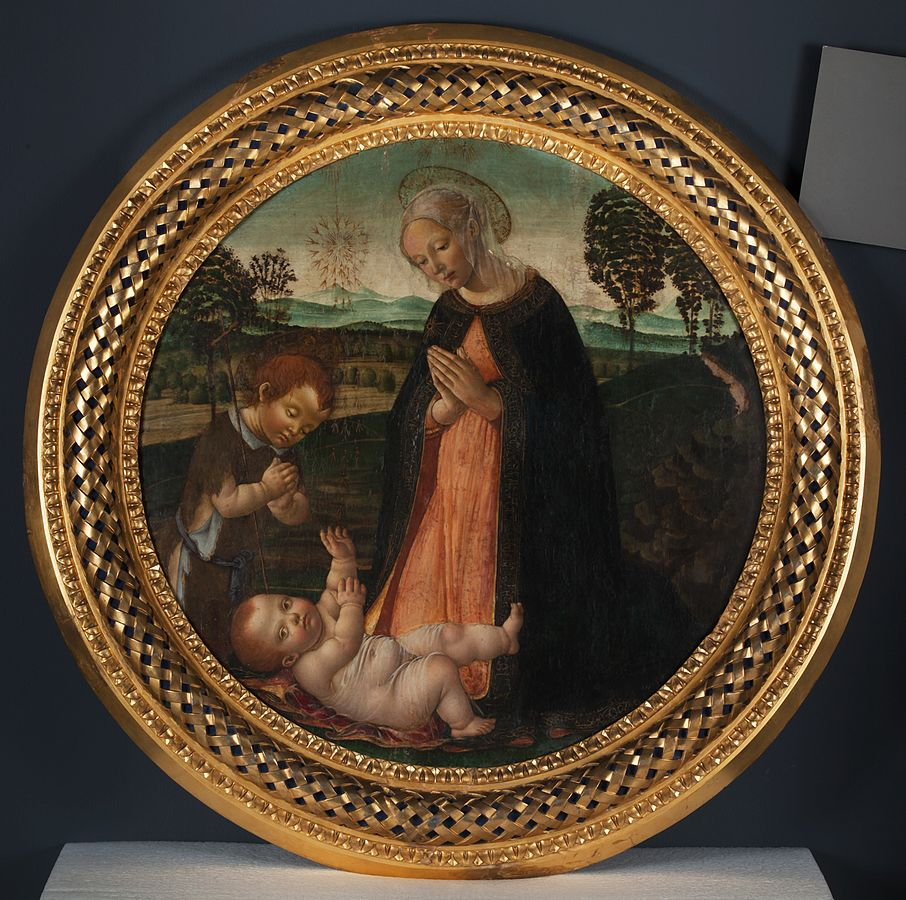 Madonna and Child with the Infant St John the Baptist