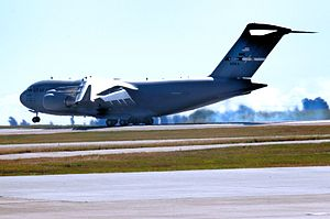 349th Air Mobility Wing - Image: 60th Air Mobility Wing Boeing C 17A Globemaster III 06 6164