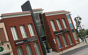 University of Waterloo Stratford Campus - The University of Waterloo Stratford Campus was originally located at 6 Wellington St. in Stratford, Ontario.