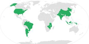 Tütün üretimi yapan başlıca ülkeler