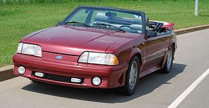 Ford Fox platform - Image: 88Mustang 9917
