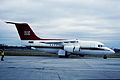 95aq- Royal Air Force Queens Flight BAe 146-C1; ZE701@LCY;1.6.2000 (4753399170).jpg