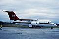 95aq- Royal Air Force Queens Flight BAe 146-C1; ZE701@LCY;1.6.2000 (4753399170).jpg