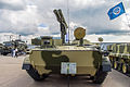 9P157-2 combat vehicle of 9K123 Khrizantema-S AT system at Engineering Technologies 2012 Front.jpg