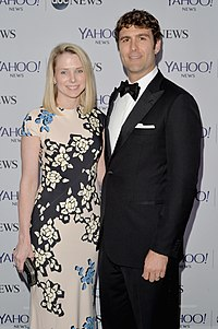 Marissa Mayer And Zachary Bogue At Pre White House Correspondents Dinner Reception In 2017